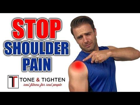 How To ELIMINATE Shoulder Pain - Shoulder Impingement Exercises