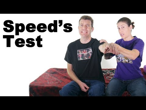 Speed's Test for Biceps Tendonitis - Ask Doctor Jo