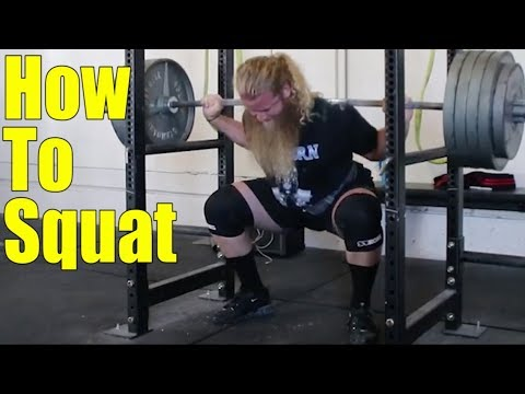How To Squat: Low Bar