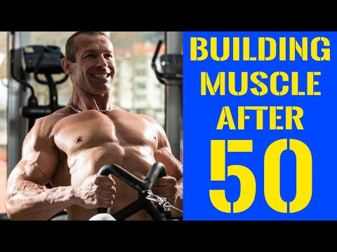Building Muscle After 50 - The Definitive Guide