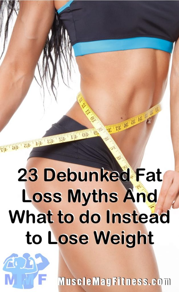 Debunked Fat Loss Myths And What to do Instead to Lose Weight