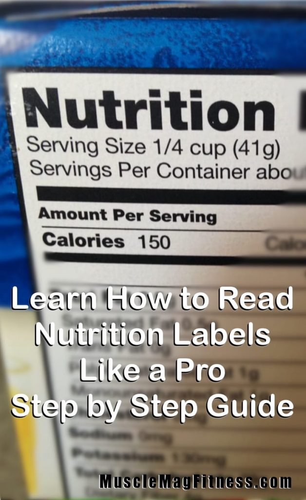 Learn How to Read Nutrition Labels Like a Pro – Step by Step Guide