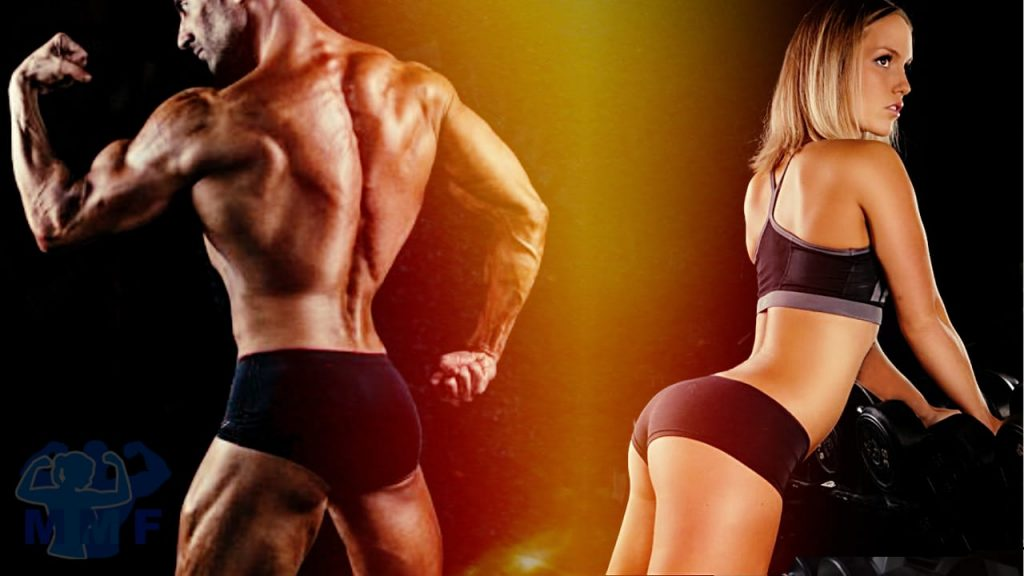 Man and Woman with Phenomenal Gluteus Maximus Exercises For A Youthful Butt