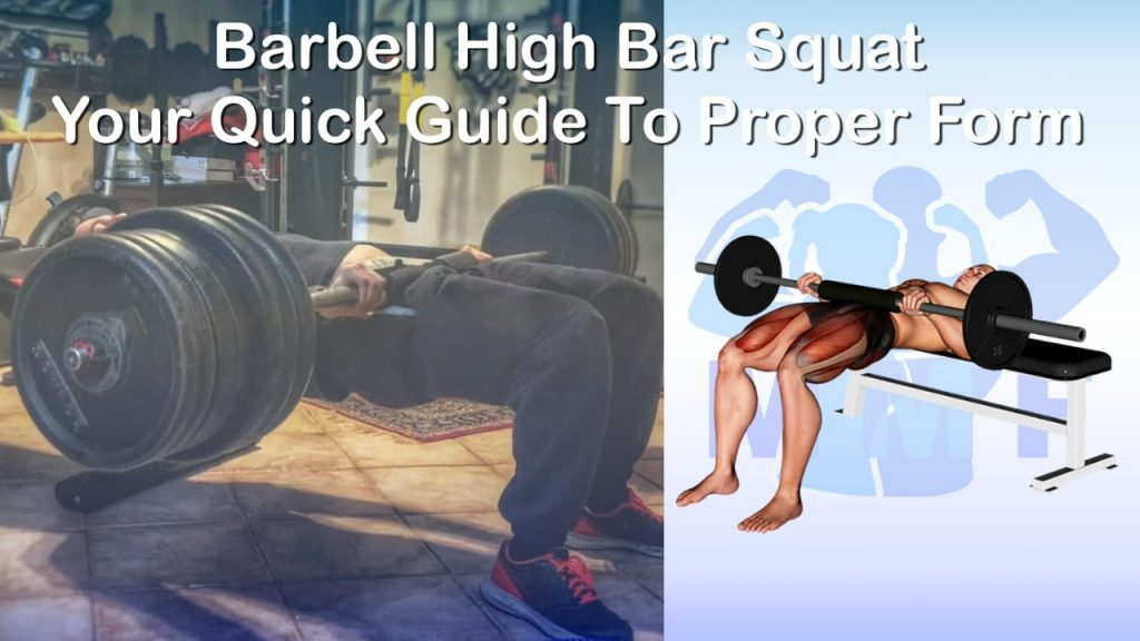 Barbell Hip Thrust - Quick Guide For Good Form And Tips