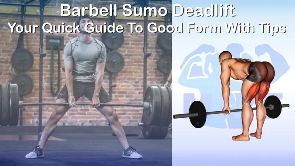 Barbell Sumo Deadlift - Your Quick Guide To Good Form With Tips