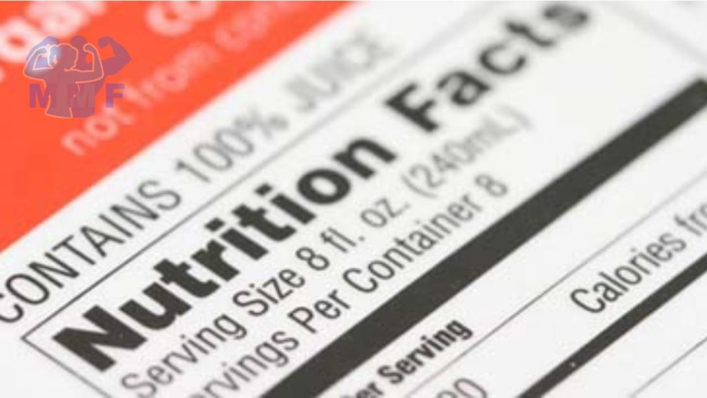 How to read nutrition labels like a pro.