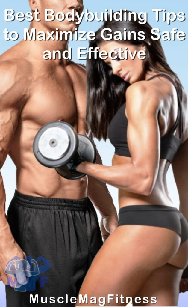 Pin image of Best Bodybuilding Tips to Maximize Gains Safe and Effective