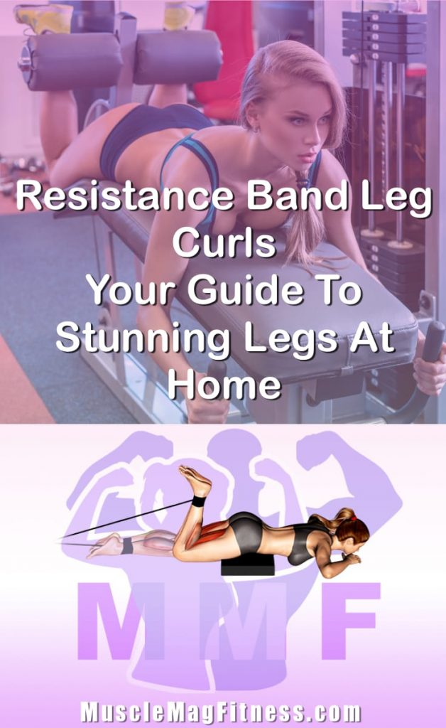 Pin Image Of Woman Performing Resistance Band Leg Curls Your Guide To Stunning Legs At Home