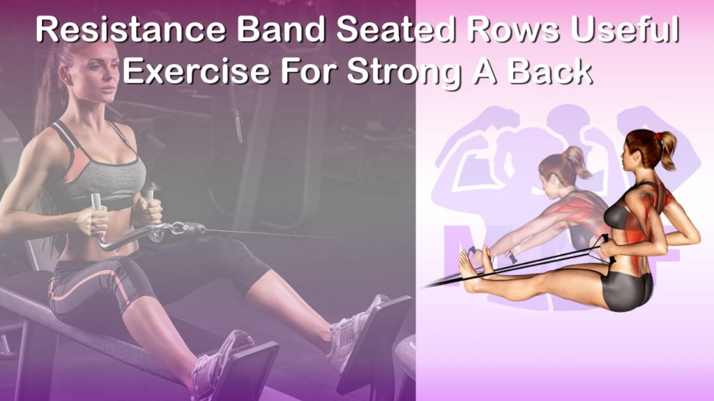 Feature image of Resistance Band Seated Rows Useful Exercise For Strong A Back.